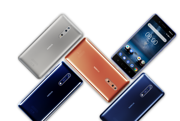 Nokia 8, l'ammiraglia di HMD Global, è disponibile in Italia a 599 € IVA inclusa.