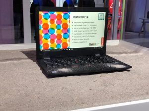 ThinkPad e la sabbia