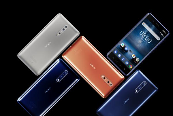 La gamma Nokia 8