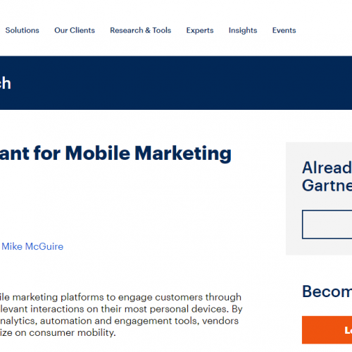 for Mobile Marketing Platforms